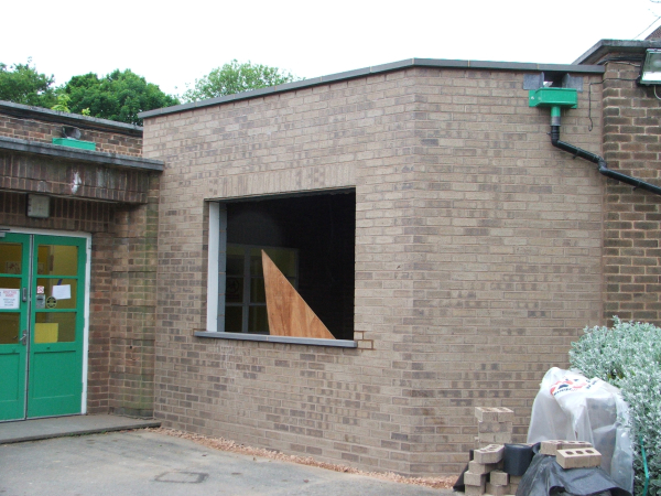 3sixty property services work at Cranmore Infants School