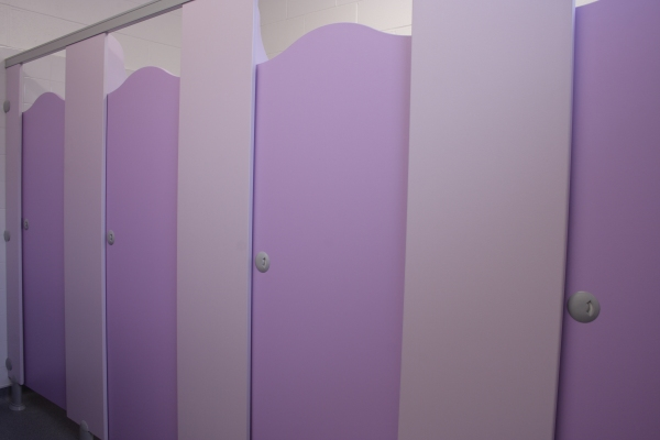 3sixty property services: Hockley Primary School - toilet refurbishment